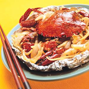 螃蟹奶油燒