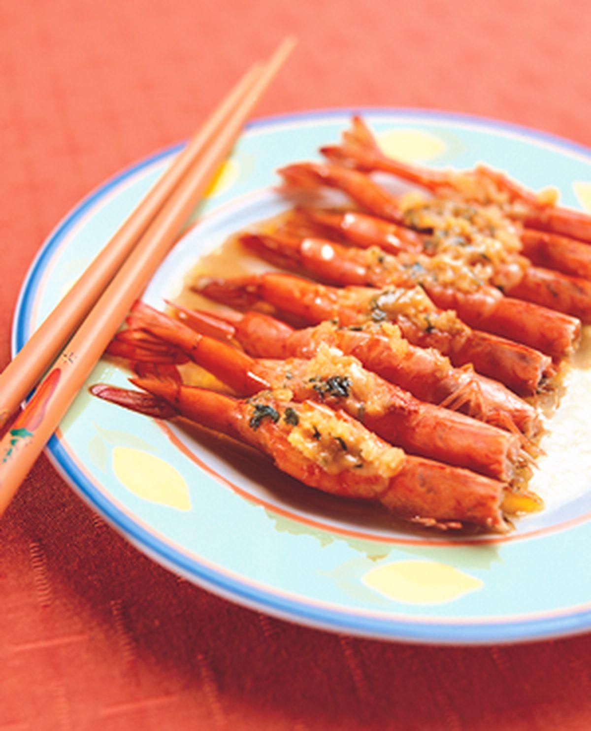 食譜:蒜味鮮蝦