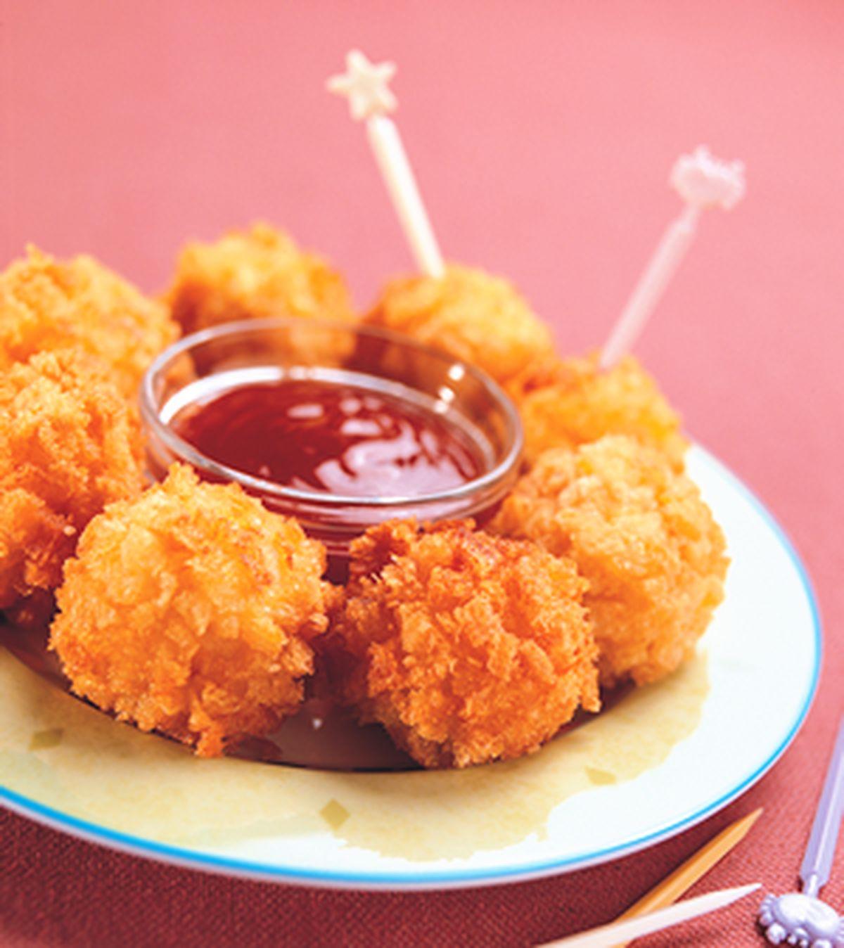 食譜:酥炸海鮮丸