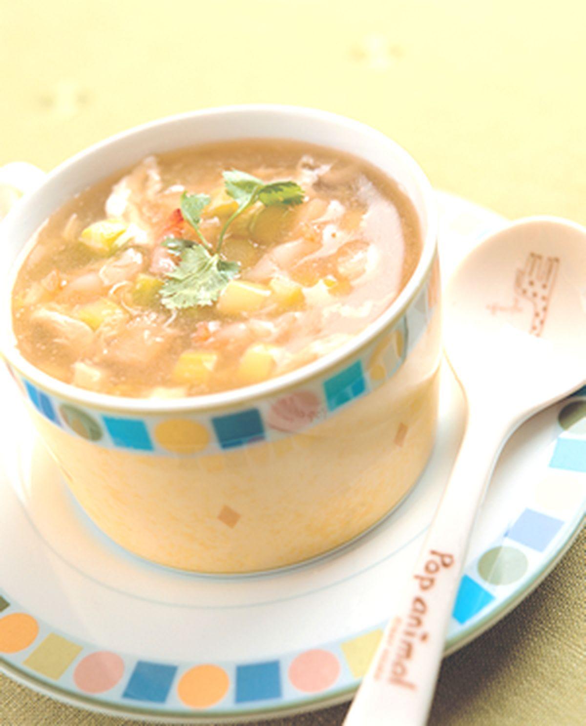 食譜:蘆筍海鮮羹