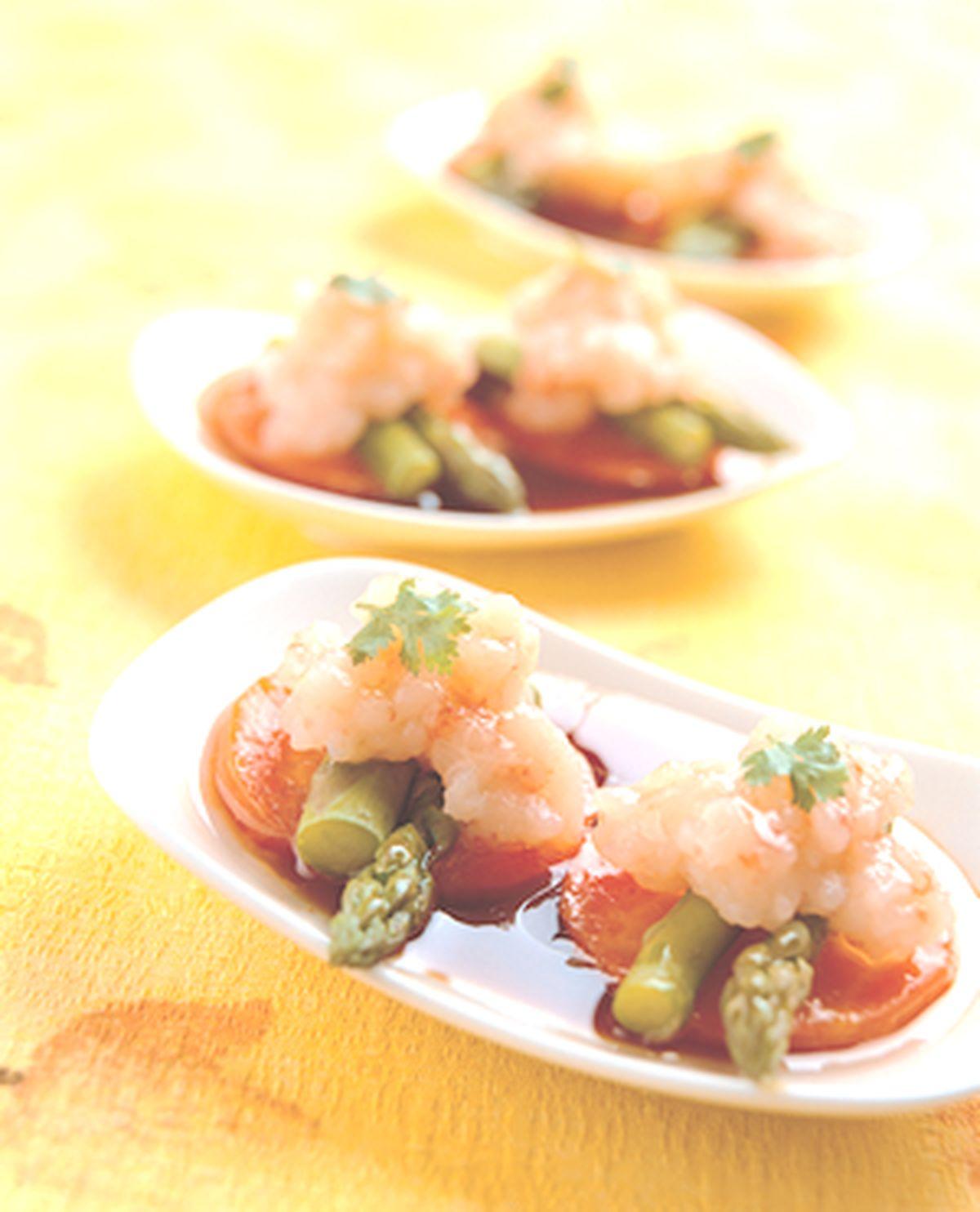 食譜:百花鑲蘆筍