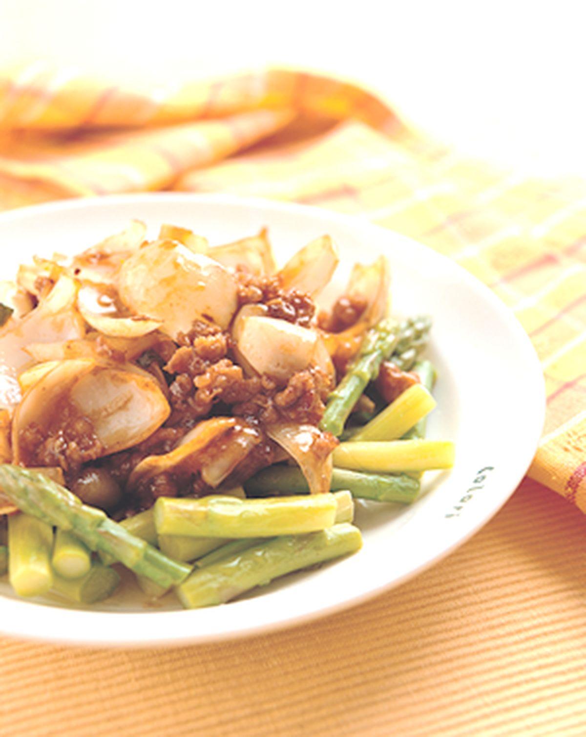 食譜:鮮百合蘆筍