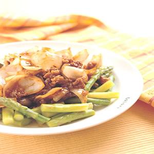 鮮百合蘆筍