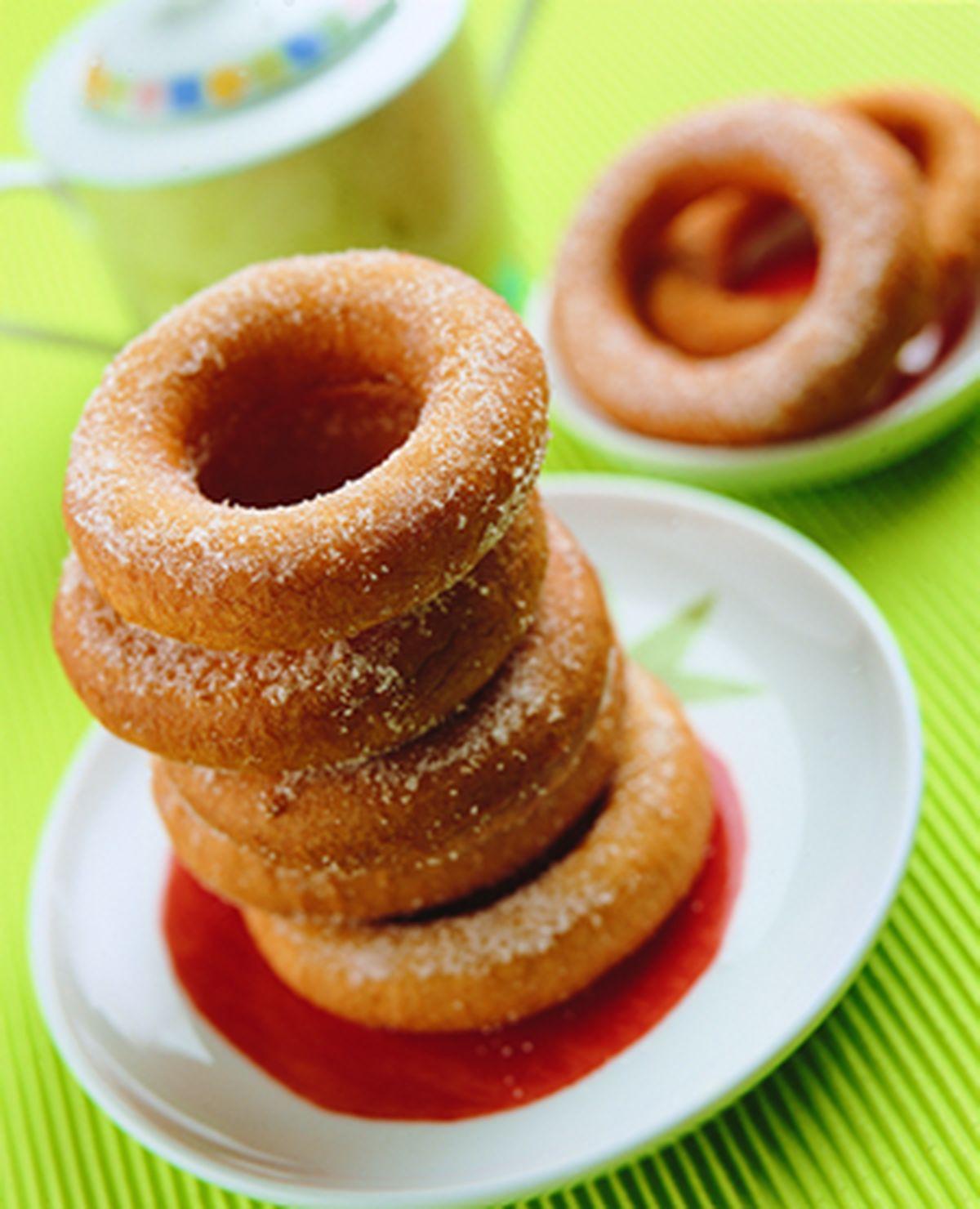 食譜:麵糊式甜甜圈