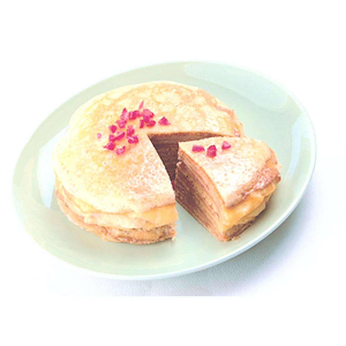食譜:千層薄餅蛋糕