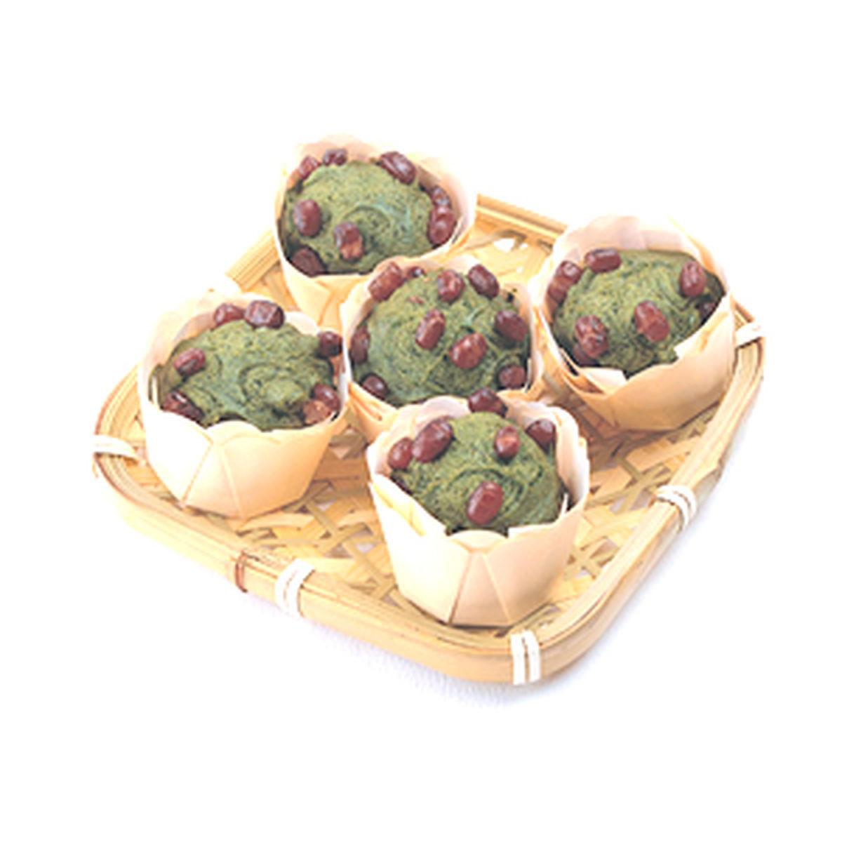食譜:抹茶小倉蒸糕(2)