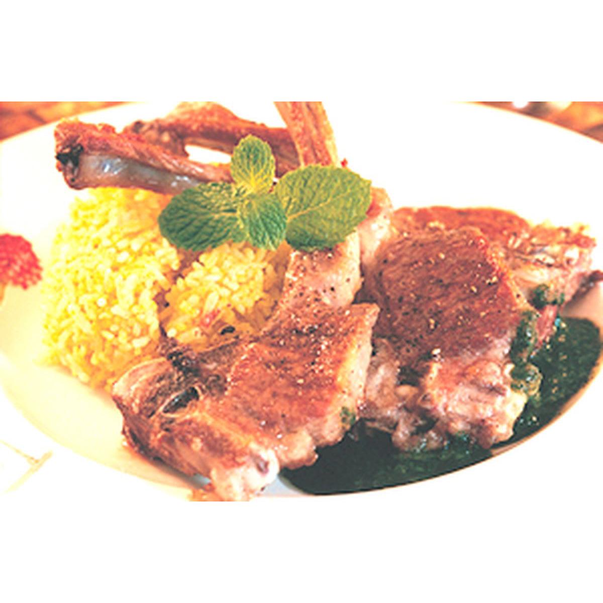 食譜:薄荷醬小羊排