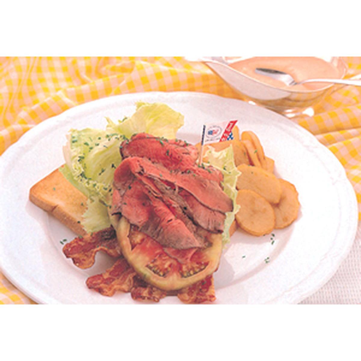 食譜:牛肉涼夏三明治