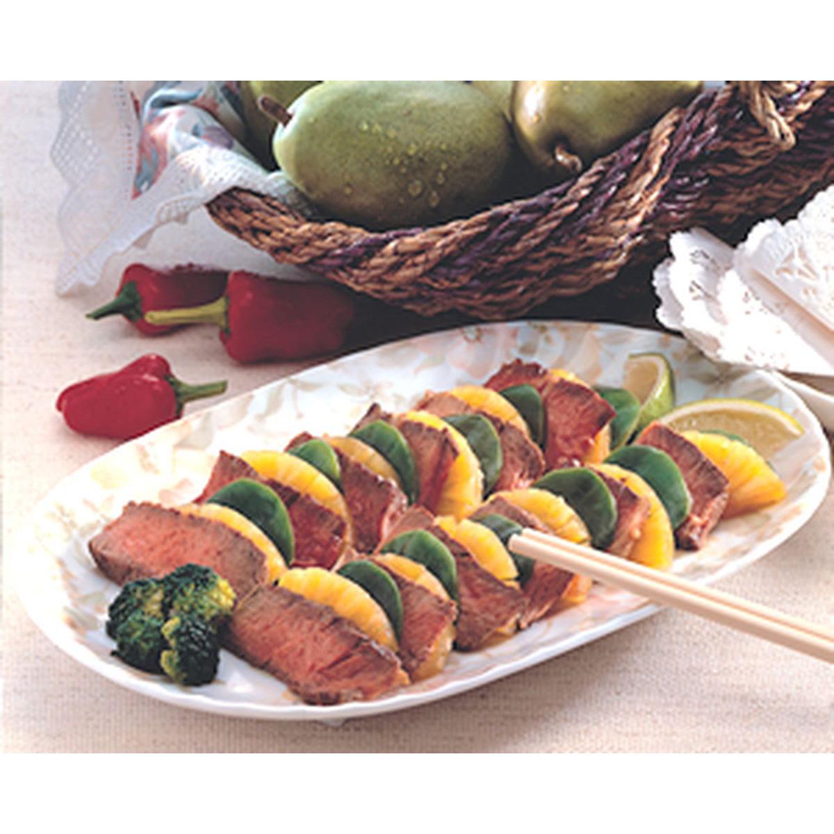食譜:香菠麒麟牛肉