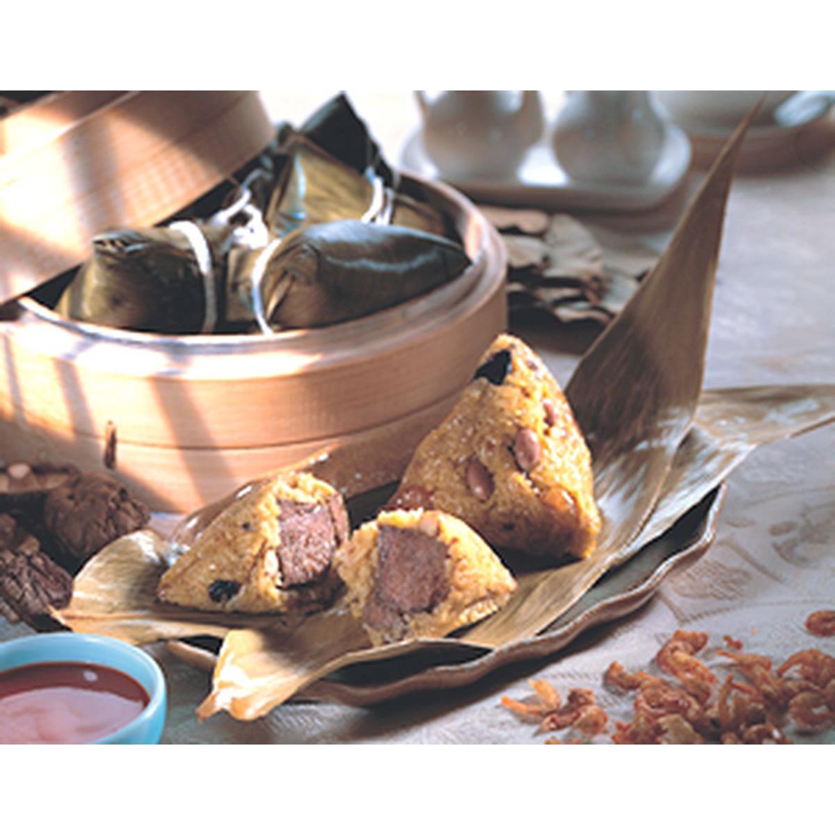 食譜:咖哩牛肉粽