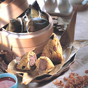 咖哩牛肉粽