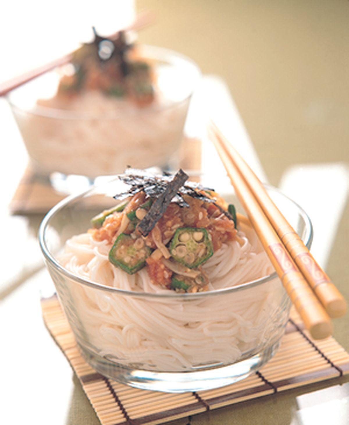 食譜:明太子冷壽麵
