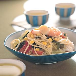 海鮮冷中華麵