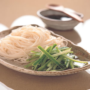 絲瓜冷麵線