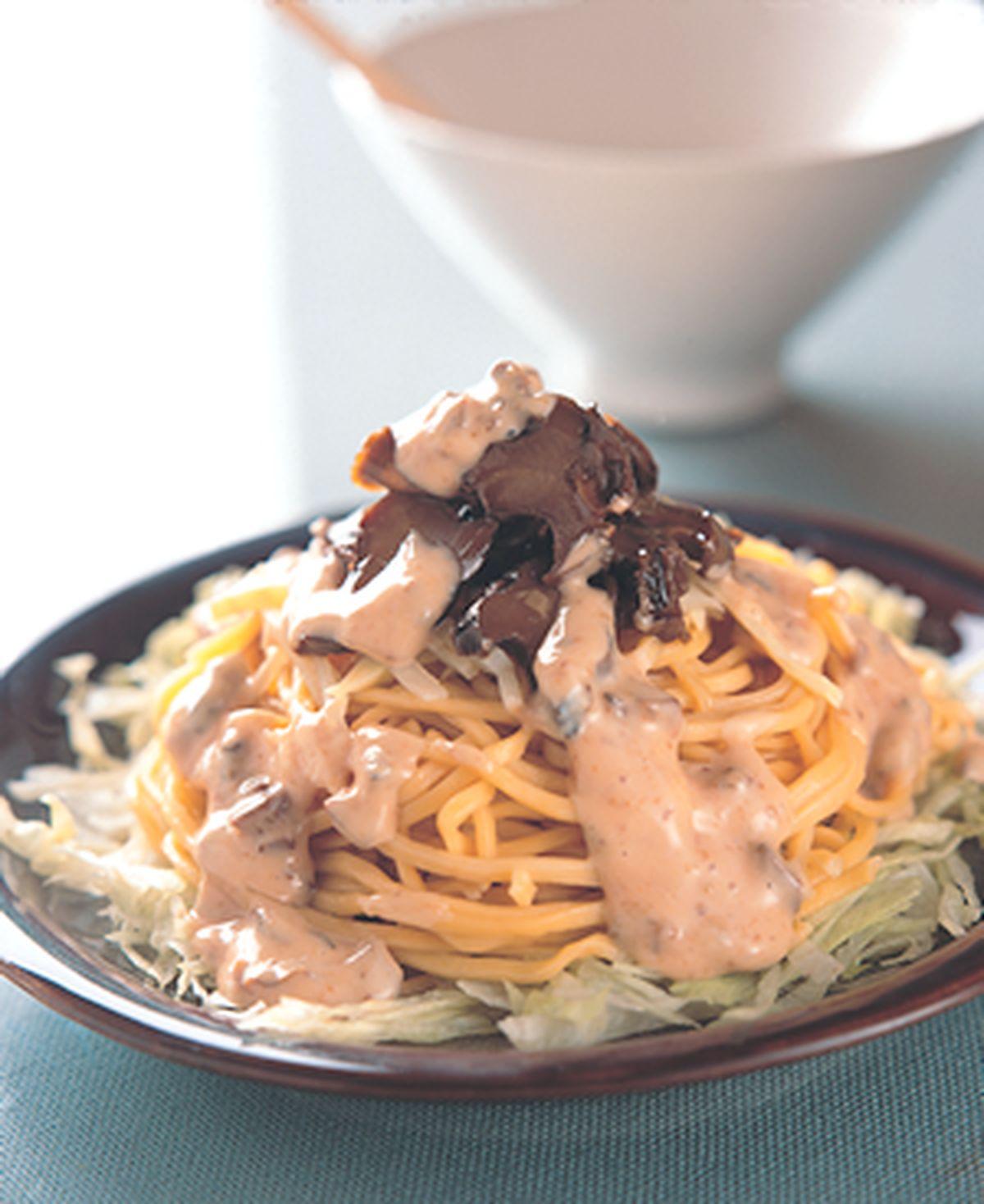 食譜:竹筍螺肉珊瑚麵