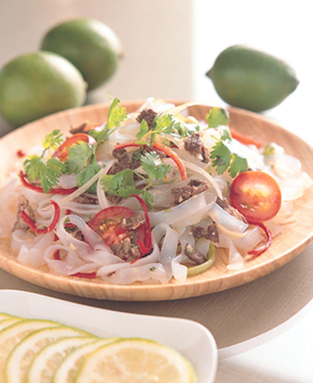 食譜:泰式涼拌牛肉冬粉