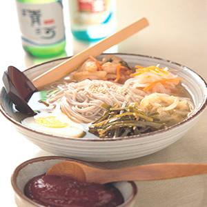 泡菜冷湯麵