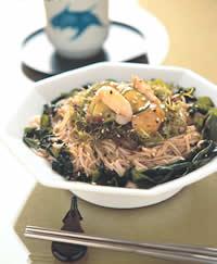 食譜:海藻冷麵