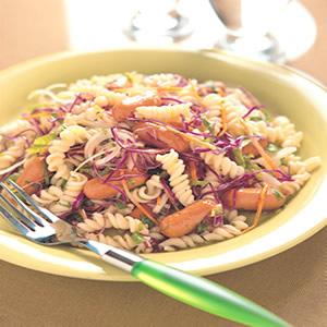 蔬菜香腸麵