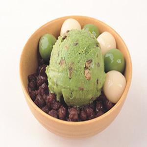 抹茶冰淇淋甜點