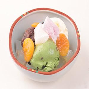 雙色冰淇淋蜜果