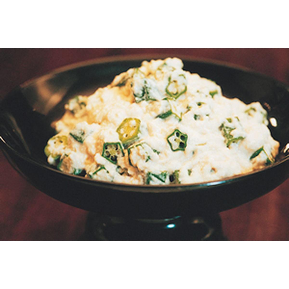 食譜:豆腐拌秋葵
