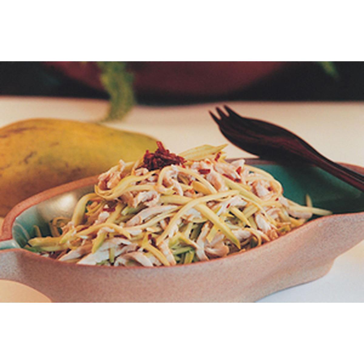 食譜:生芒果雞絲沙拉