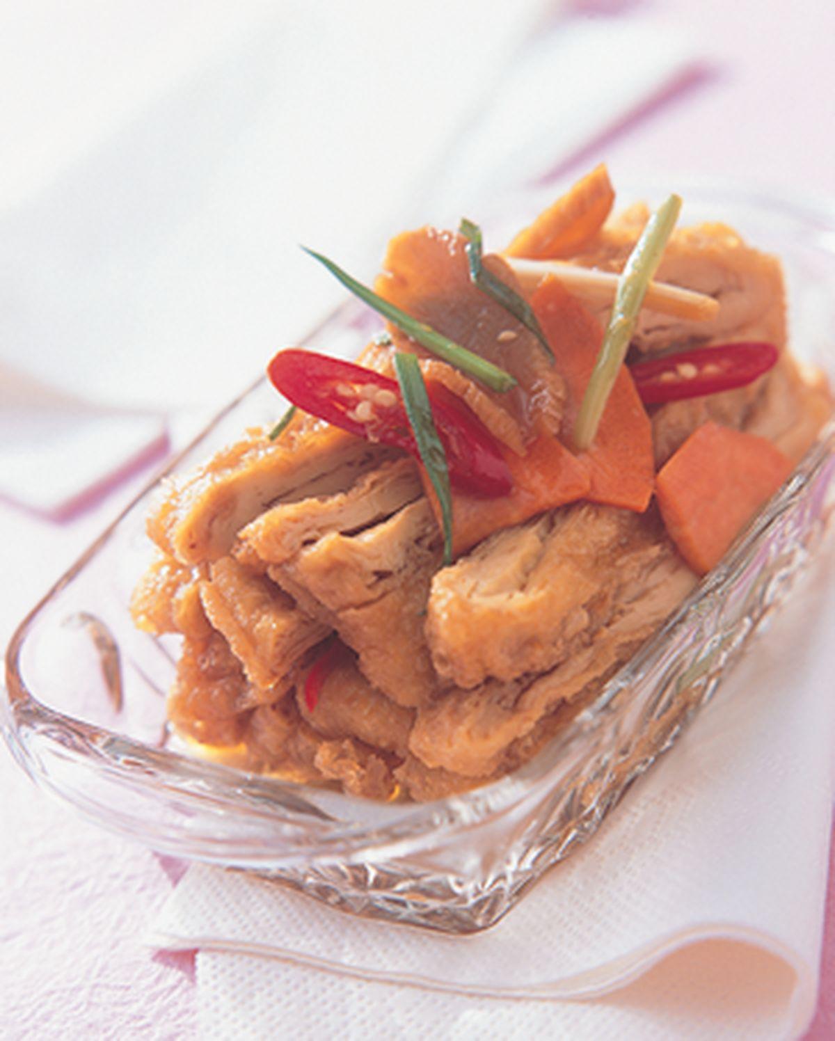 食譜:蔥香豆皮