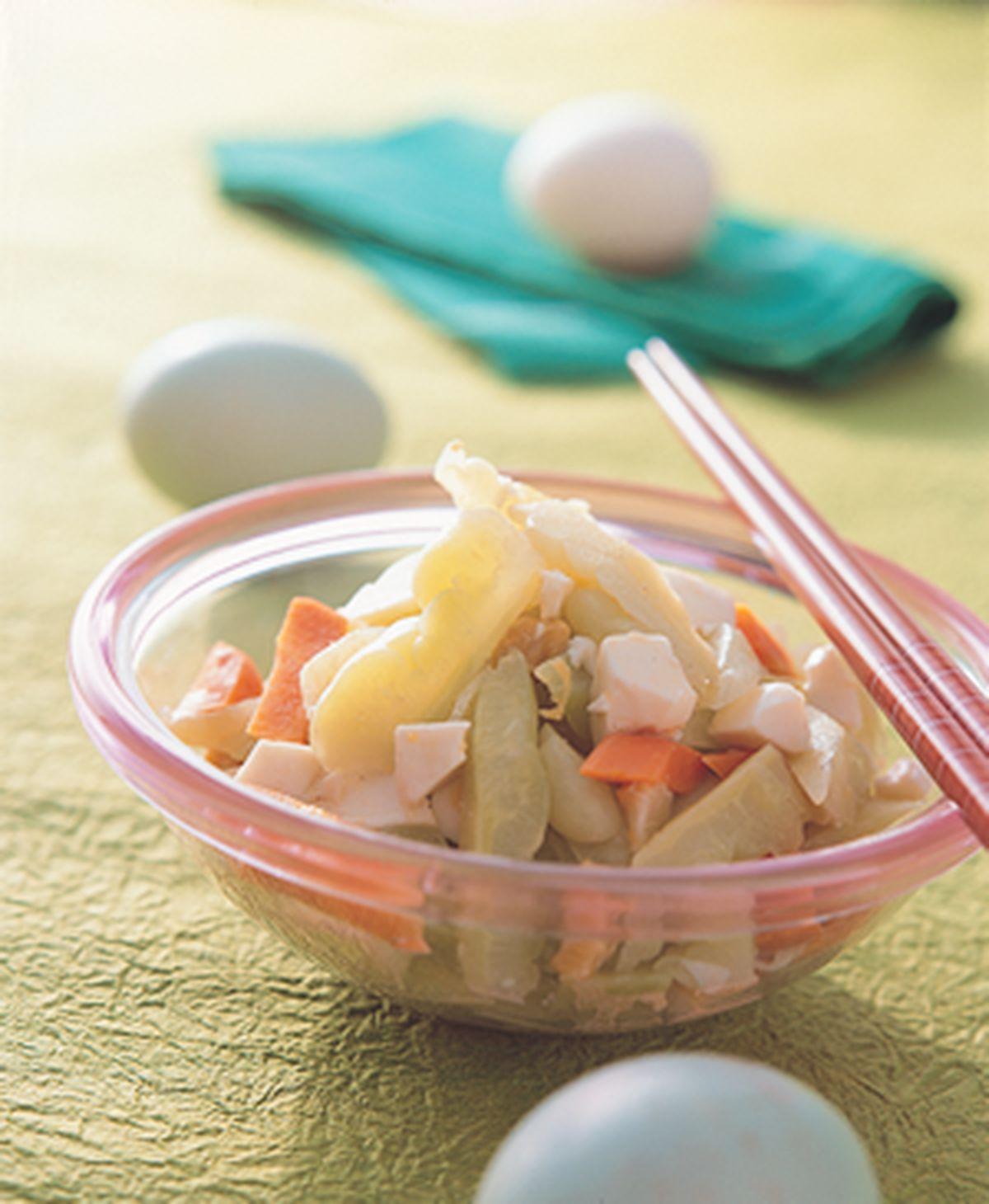 食譜:涼拌鹹蛋苦瓜