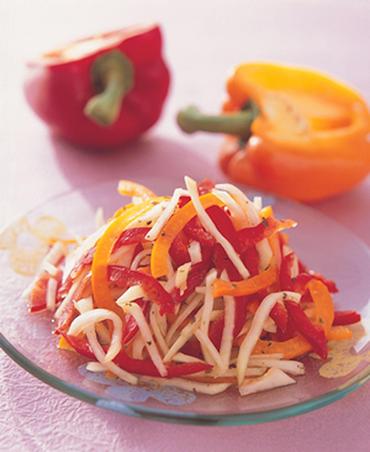 食譜:甜椒三絲