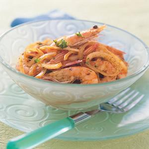 涼拌咖哩蝦