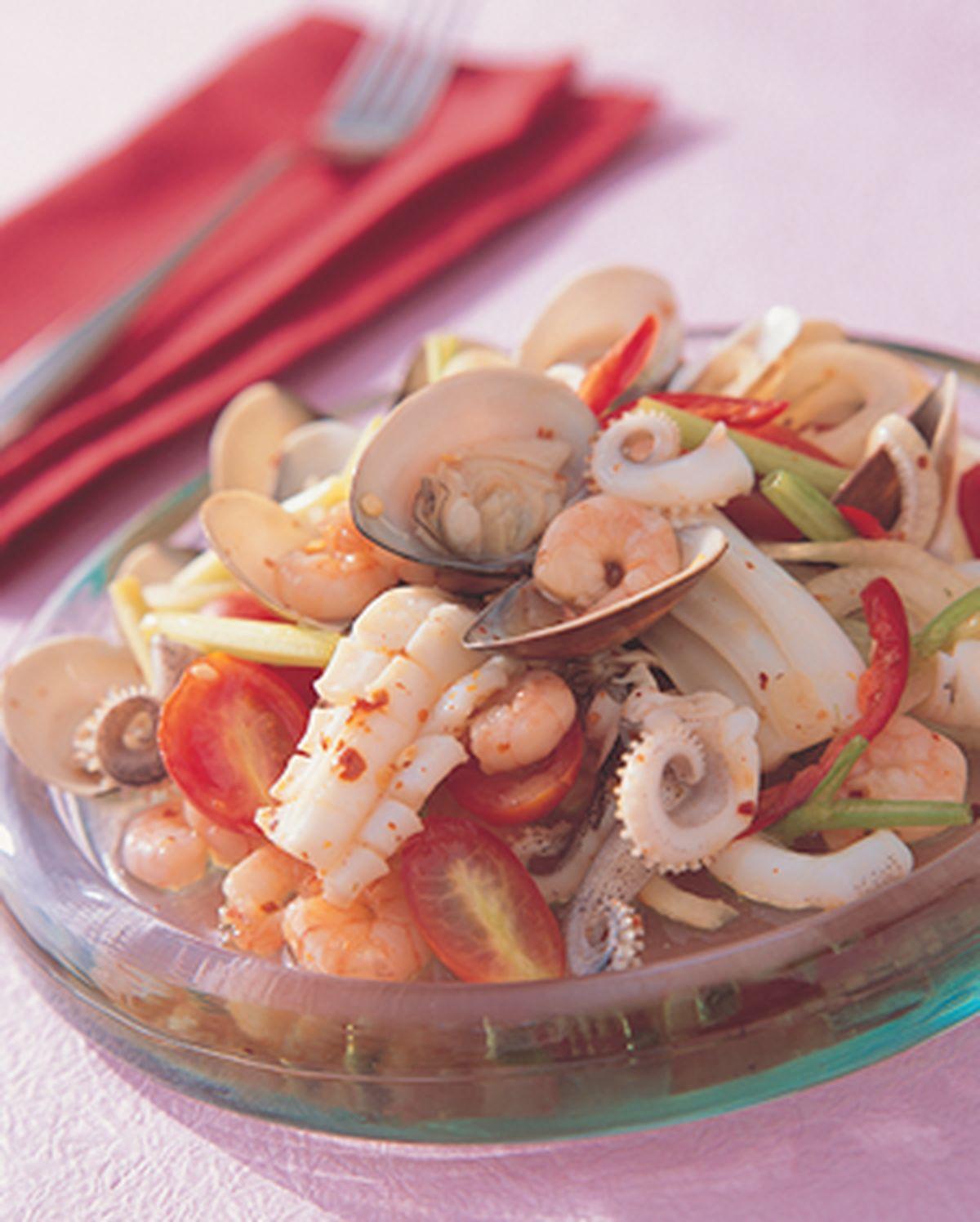 食譜:泰式涼拌海鮮