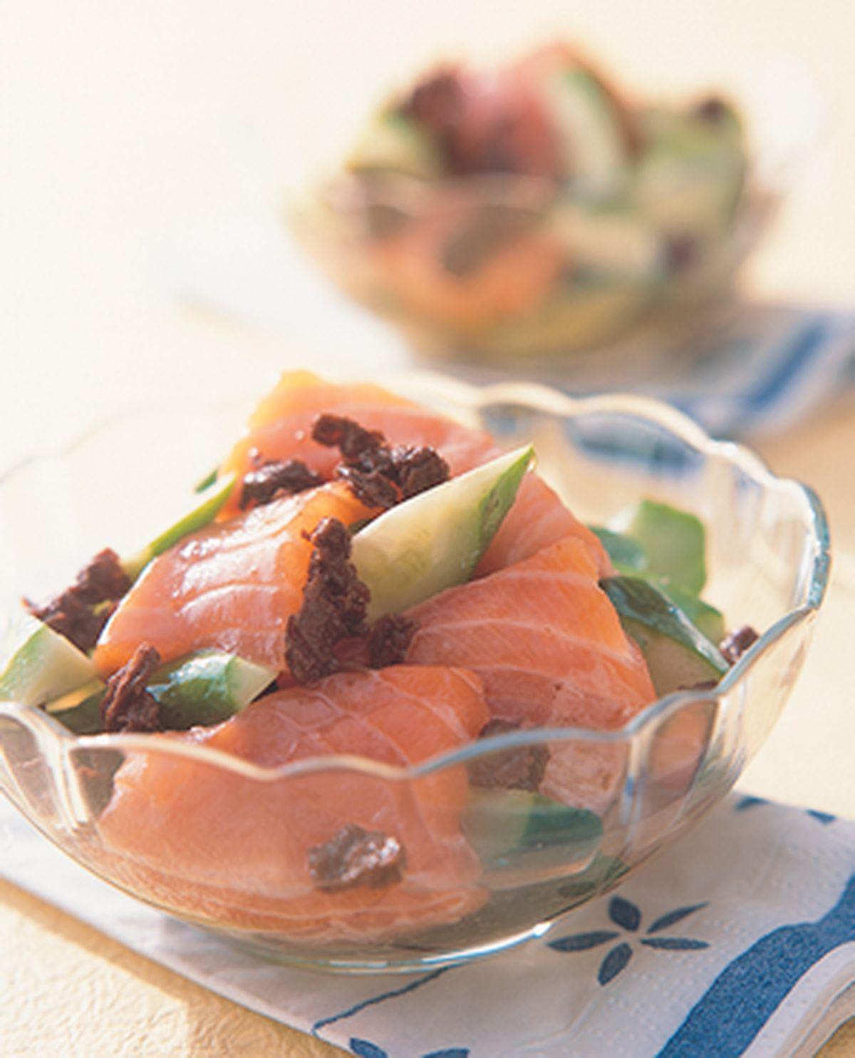 食譜:梅汁鮭魚