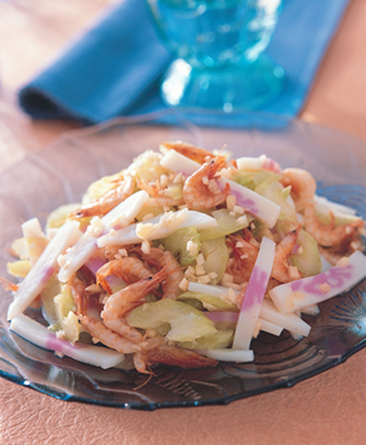 食譜:脆芹櫻花蝦