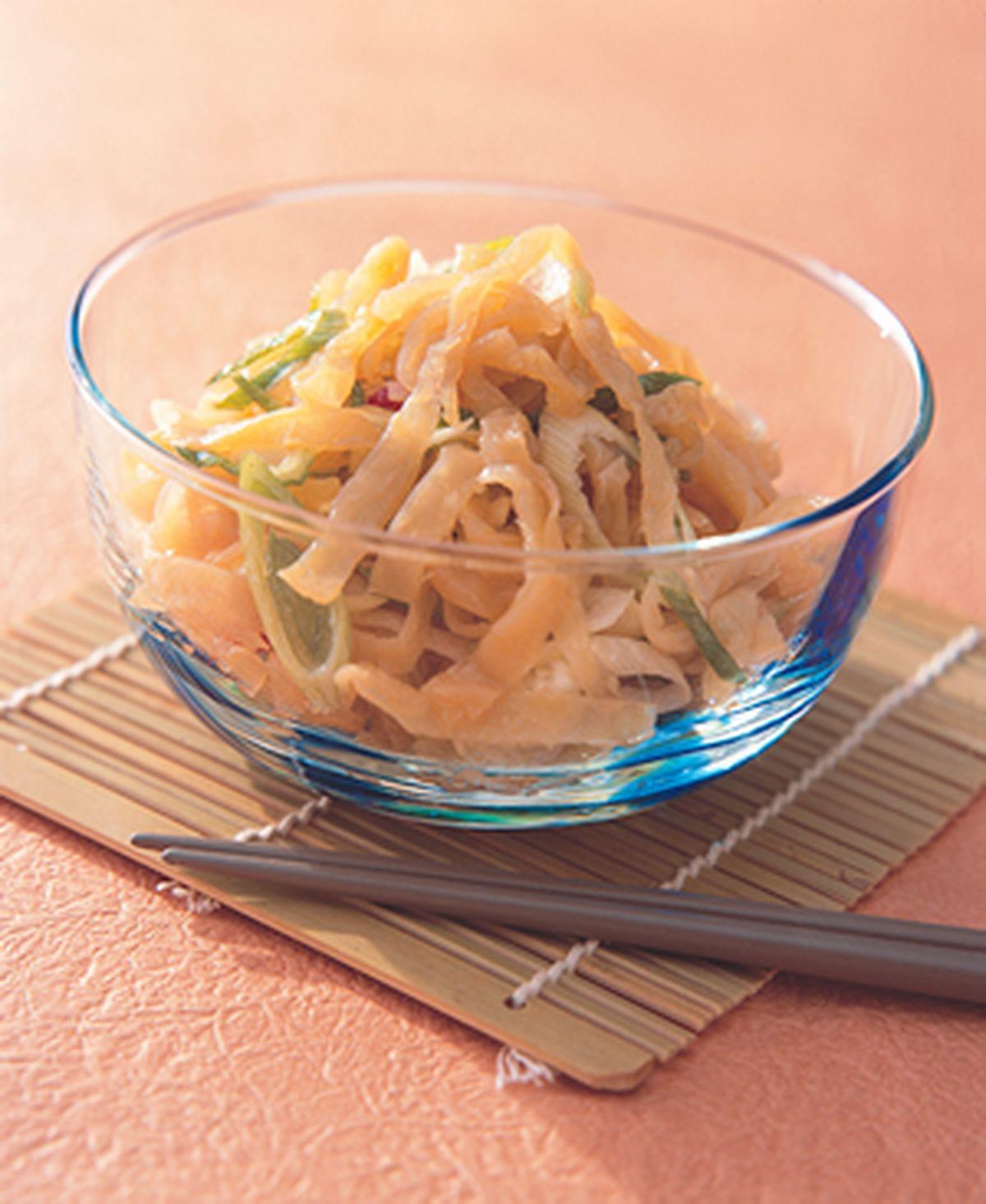 食譜:涼拌海蜇皮(2)
