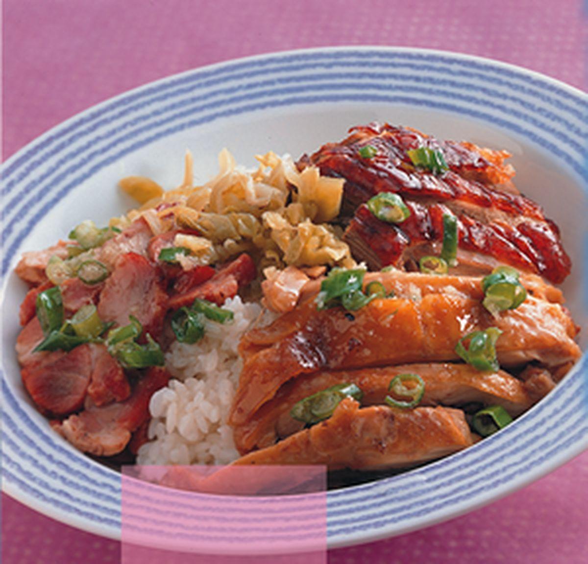 食譜:廣東燒臘飯