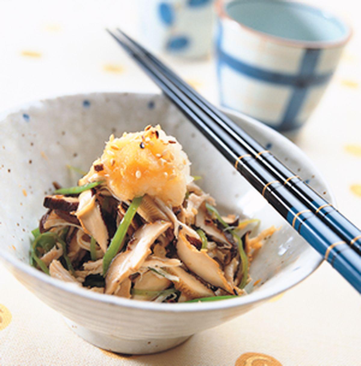 食譜:香菇雞絲涼伴