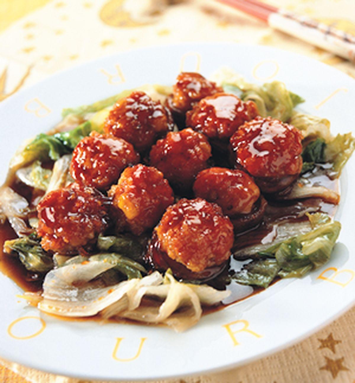 食譜:金錢菇生菜