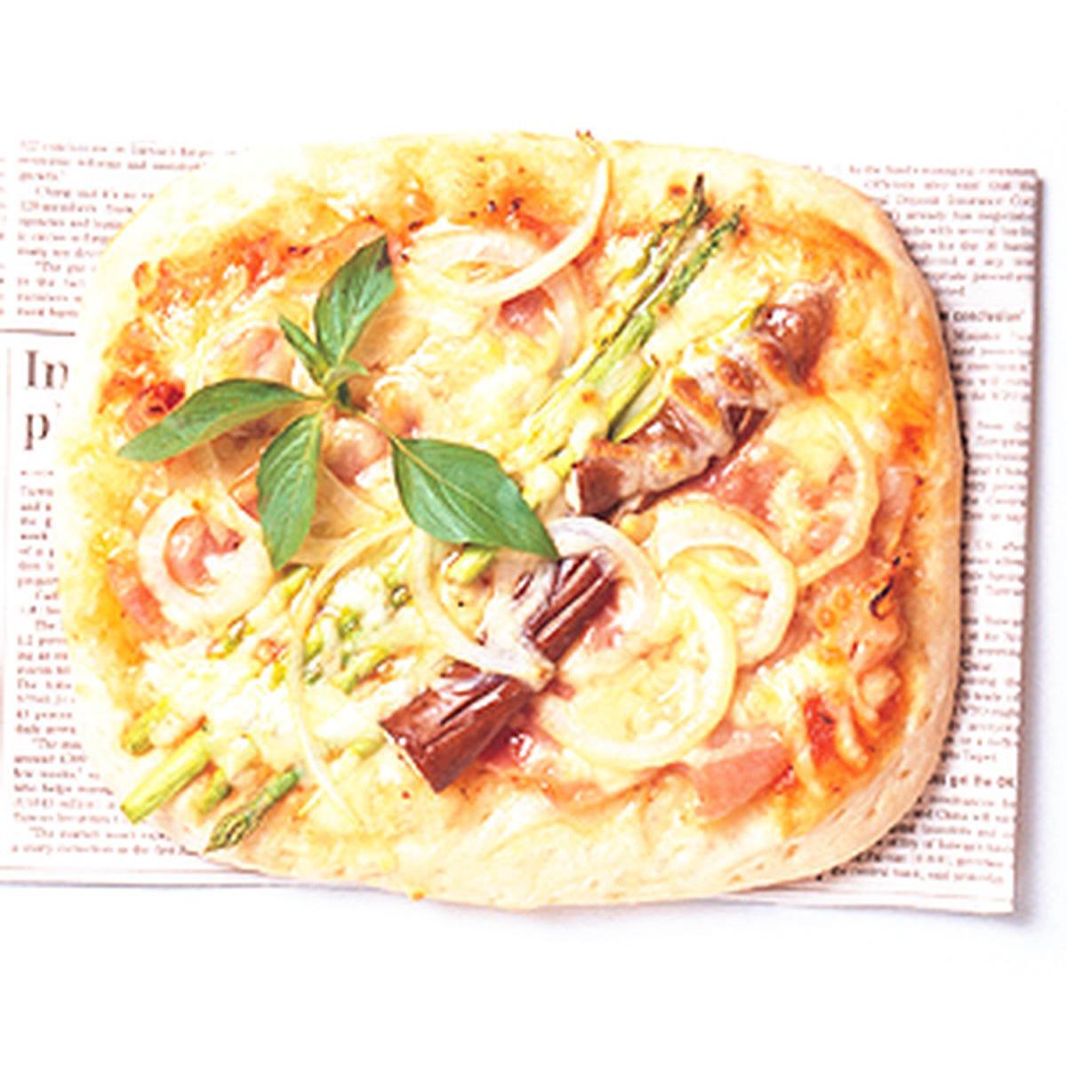 食譜:培根蔬菜披薩