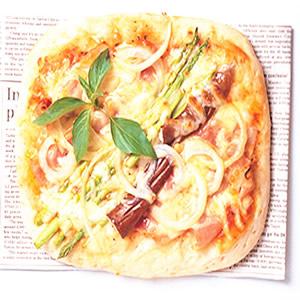 培根蔬菜披薩