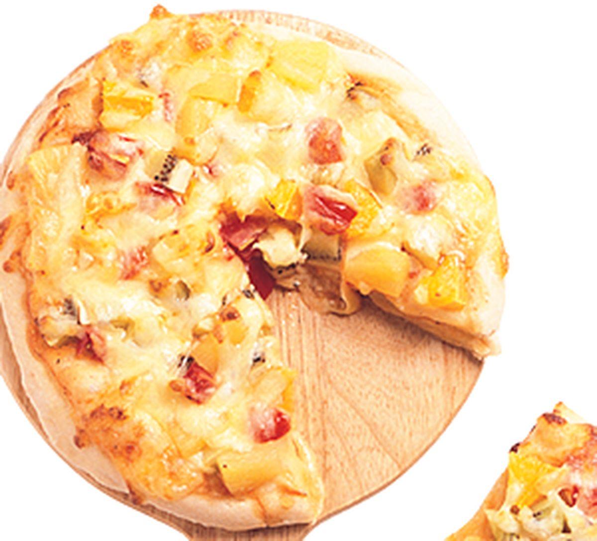 食譜:水果素什錦披薩
