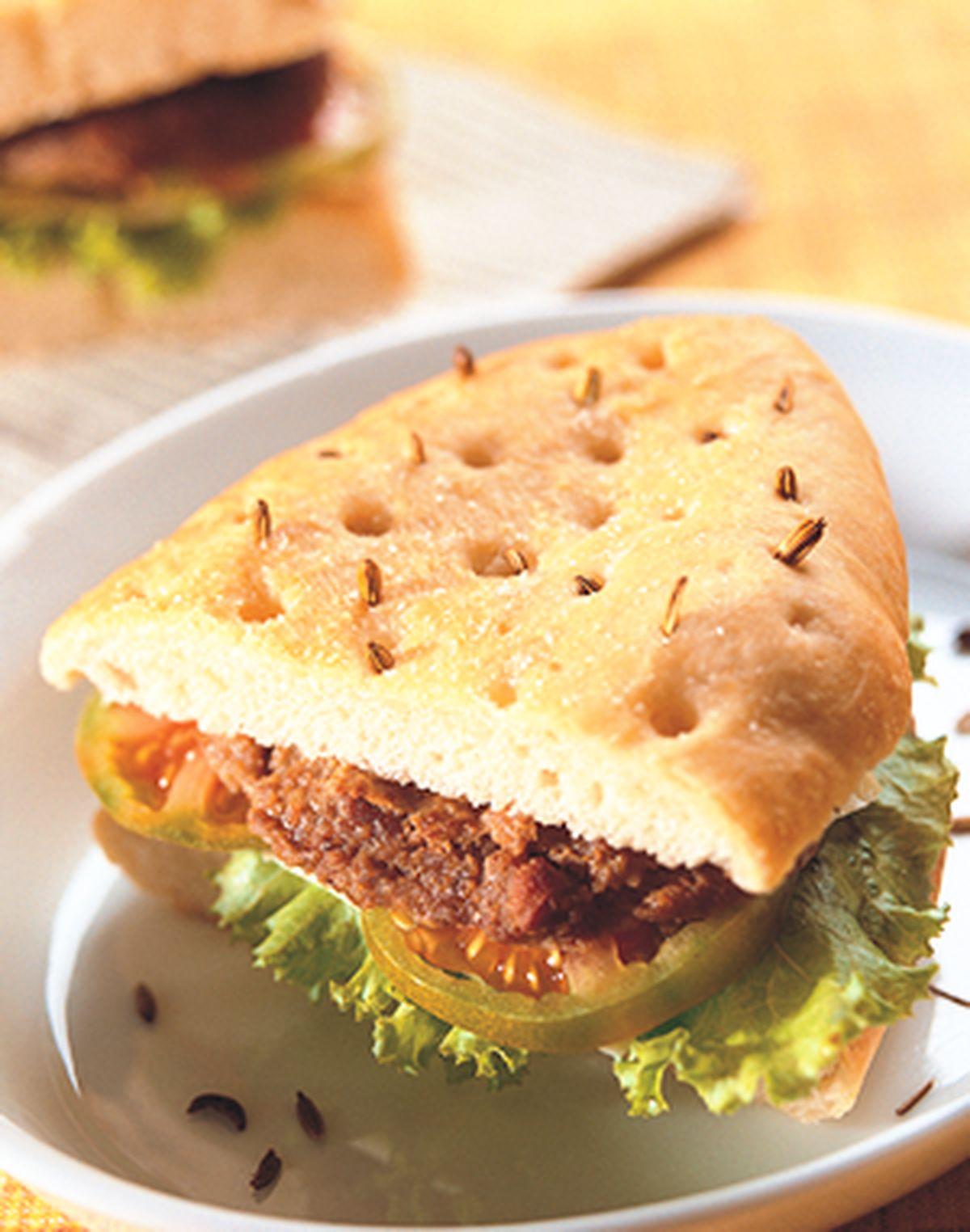 食譜:佛卡夏三明治