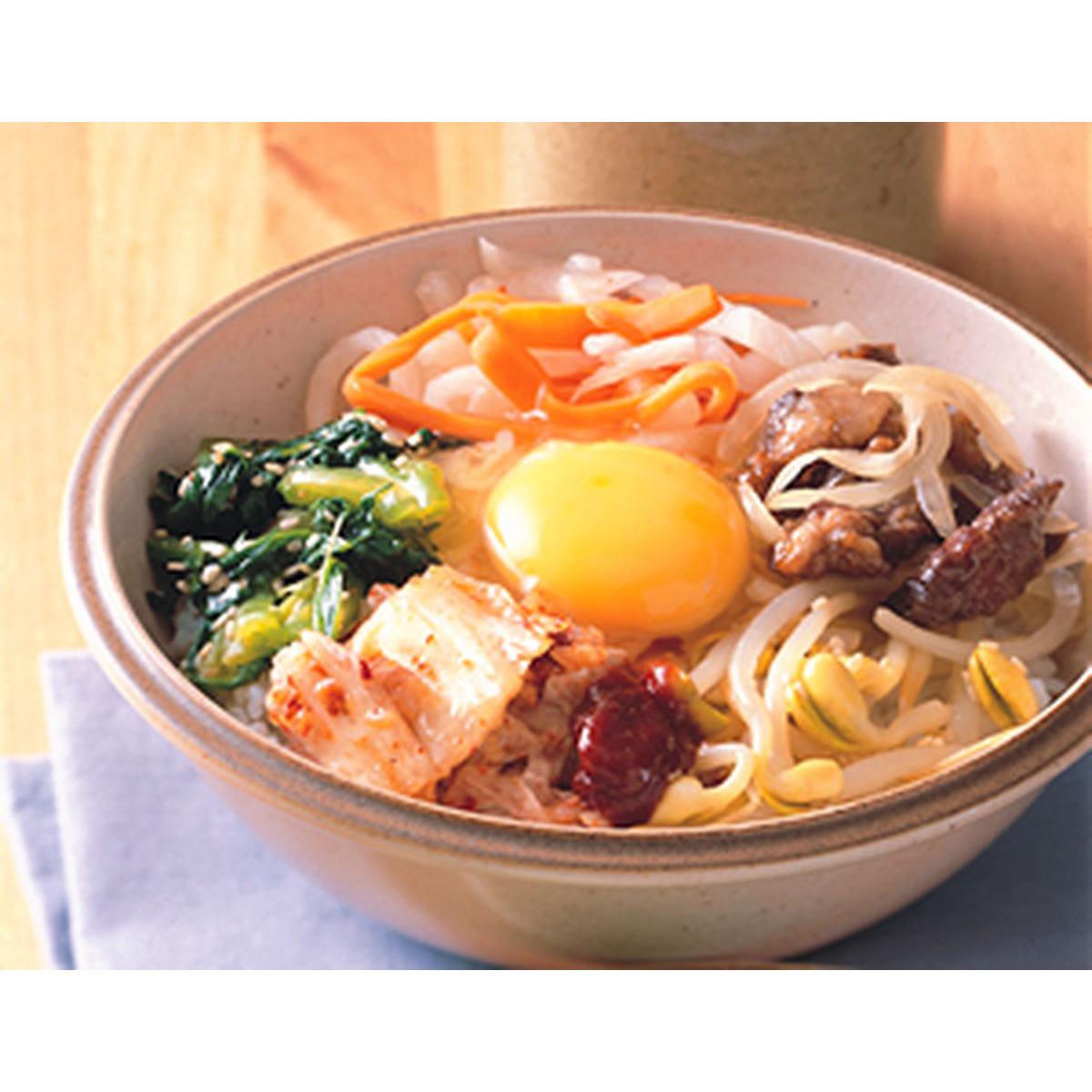 食譜:韓風韓式拌飯