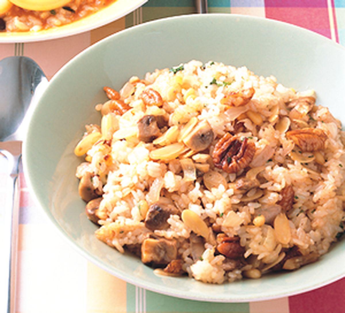 食譜:地中海香料堅果炒飯