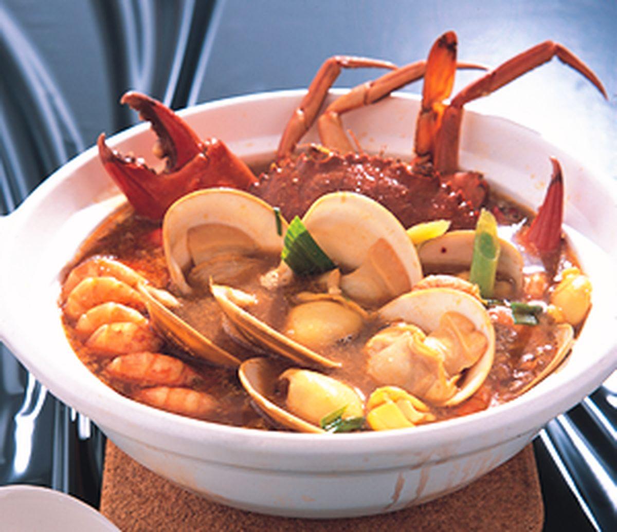 食譜:咖哩海鮮鍋
