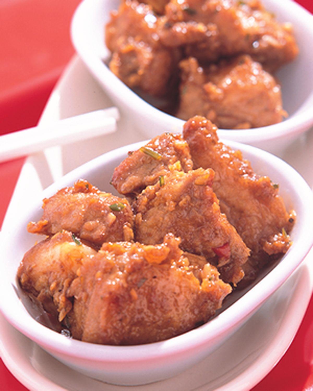 食譜:咖哩燒子排