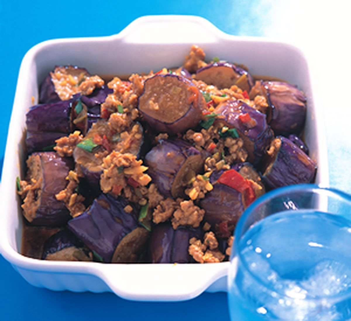 食譜:咖哩醬茄子