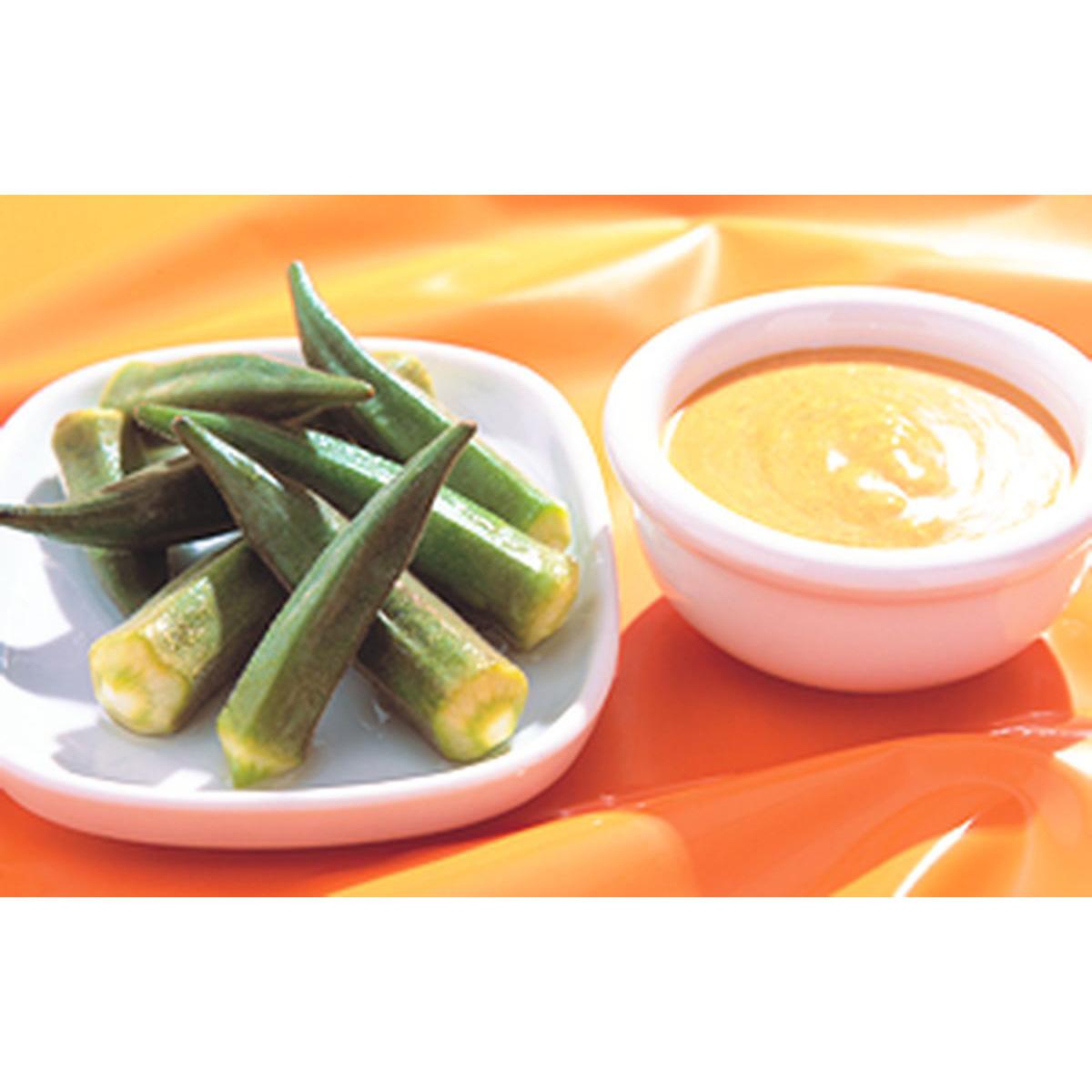 食譜:咖哩優格秋葵