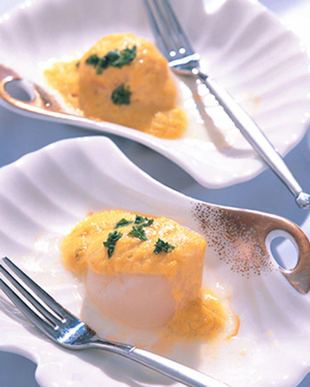 食譜:咖哩焗鮮貝