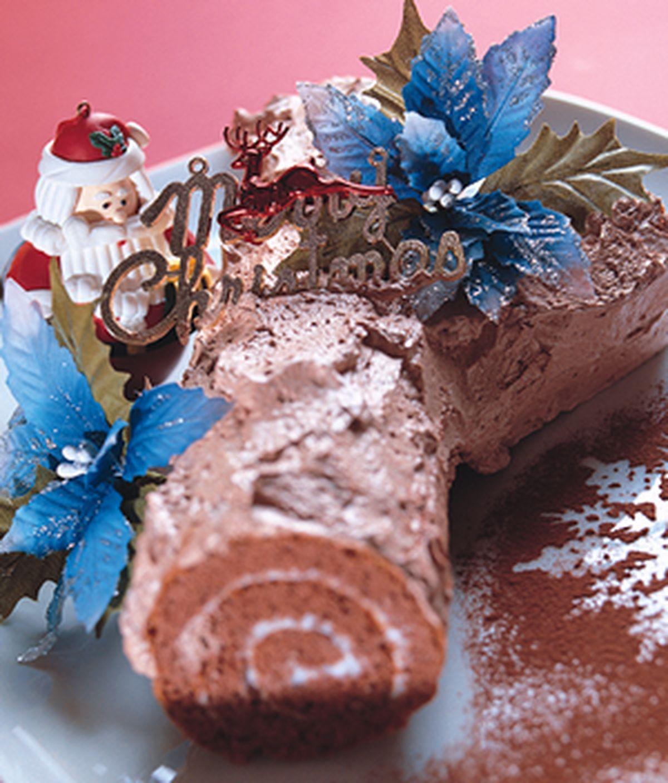 食譜:樹幹蛋糕(1)
